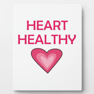 Heart Healthy Plaques