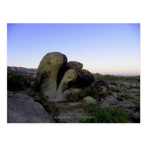 Heart-Healthy Summer Desert Postcard