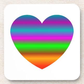 Heart - Heart (01) Beverage Coaster