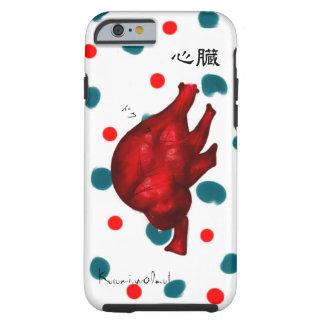 Heart. heart heart art pop painting picture dark d tough iPhone 6 case
