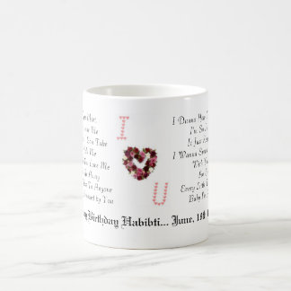 heart, heart, heart, heart, heatsss, Every Time... 11 Oz Magic Heat Color-Changing Coffee Mug