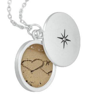 Heart Hearts love custom personalize Anniversaries Locket Necklace