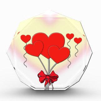 heart hearts love romantic custom personalize award