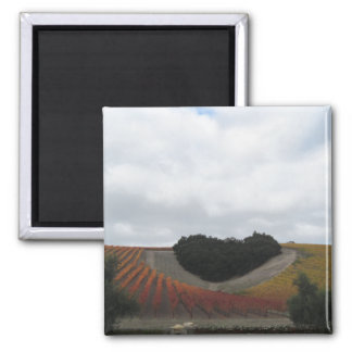 Heart Hill at Niner Estates, in Autumn 2 Inch Square Magnet