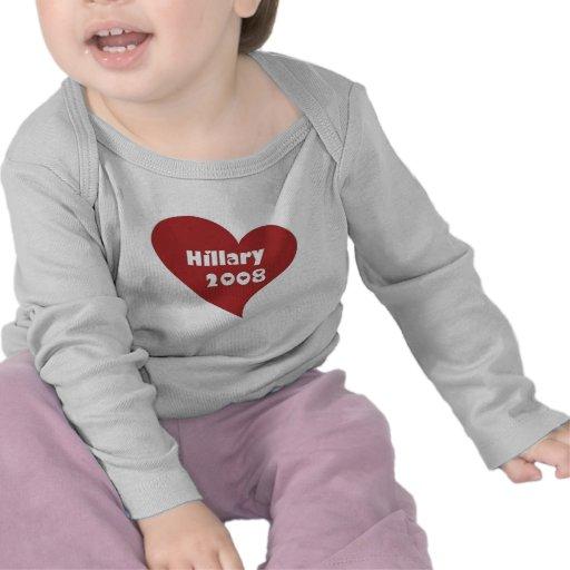 heart_Hillary 2008 T Shirts