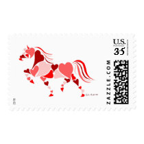 Heart Horse Stamp