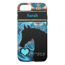 Heart Horses III Customizable (Dreamz 4) iPhone 8/7 Case