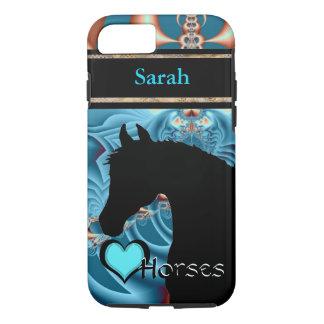Heart Horses III Customizable (Dreamz 4) iPhone 7 Case