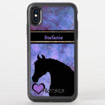 Heart Horses III OtterBox Symmetry iPhone XS Max Case