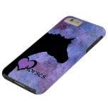 Heart Horses IV (purple/blue) Tough iPhone 6 Plus Case