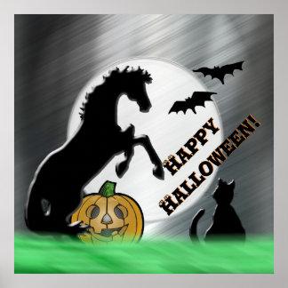 Heart Horses V Halloween Poster