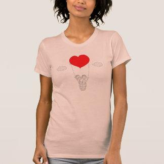 Heart Hot Air Balloon T-shirt