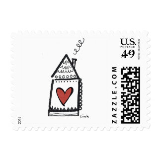 Heart House Stamp