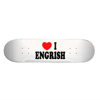 Heart I Engrish Skateboards