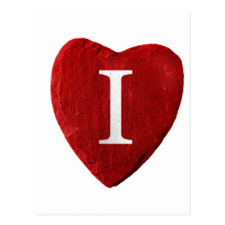 Heart I loves you Postcard