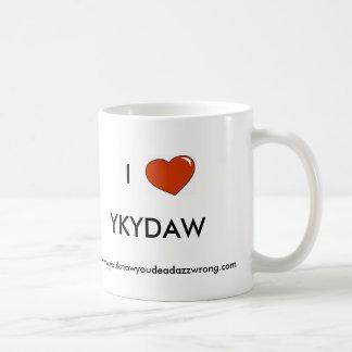 heart, I, YKYDAW, www.youknowyoudeadazzwrong.com Mug