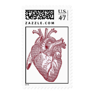 Heart Illustration Postage