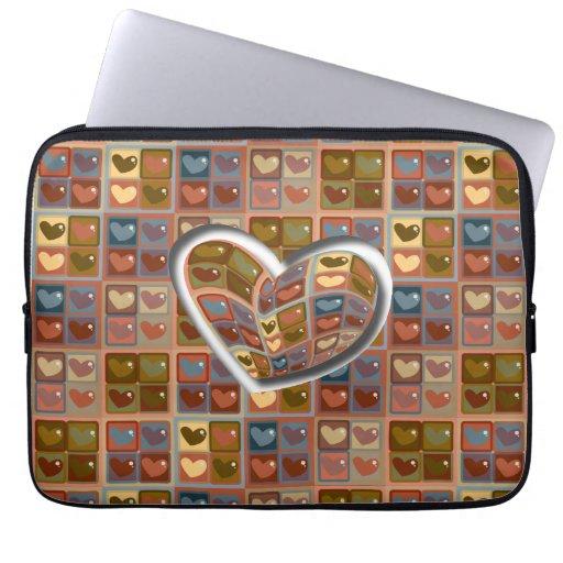 Heart In A Box 2 Laptop Sleeve