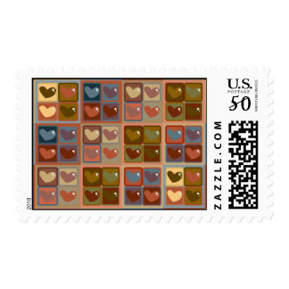 Heart In A Box Postage Stamp