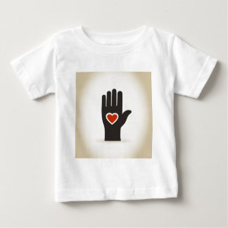 Heart in a hand baby T-Shirt