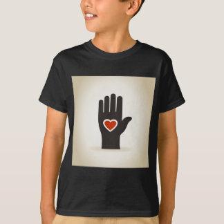 Heart in a hand T-Shirt