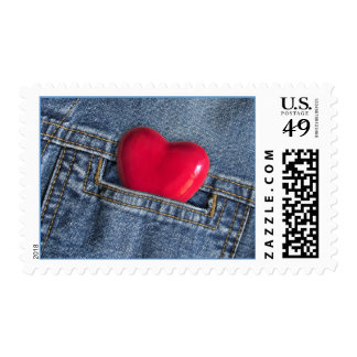 Heart In A Pocket stamp