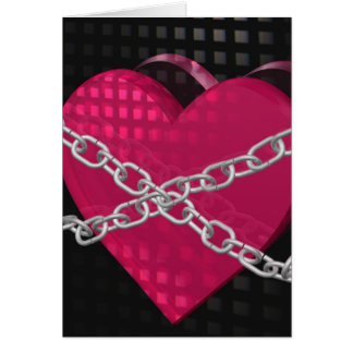 Heart In Chains Card