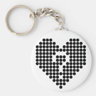 Heart in Doubt Keychain
