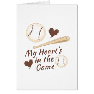Heart In Game Card