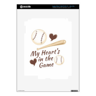 Heart In Game Decal For iPad 3