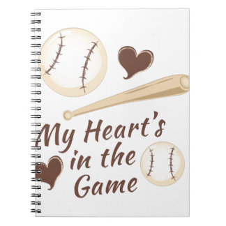Heart In Game Notebook
