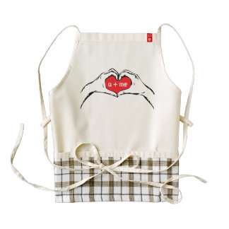 Heart in Hand Apron