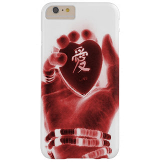 Heart in hand barely there iPhone 6 plus case