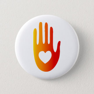 Heart in Hand Button