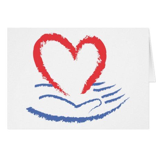 Heart In Hand Card