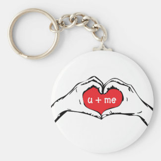 Heart in Hand Keychain