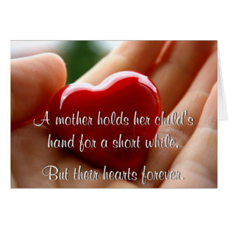hands holding a heart mothers day card holding child mothers day cards zazzle 8101