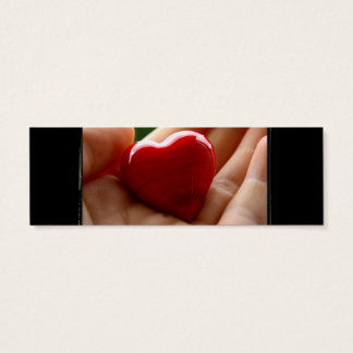Heart in Hand - Mother's Day Mini Business Card