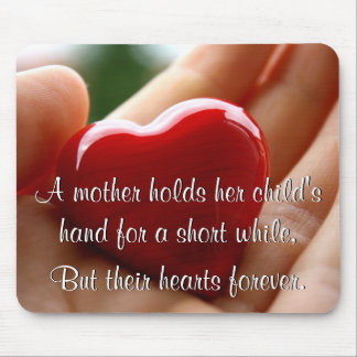 Heart in Hand - Mother's Day Mouse Pad
