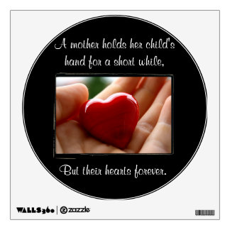 Heart in Hand - Mother's Day Wall Decals