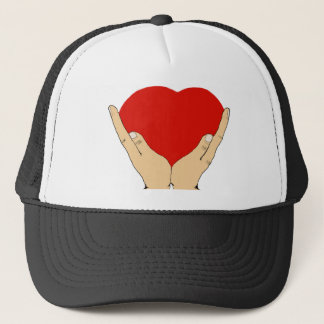 Heart in Hands Trucker Hat