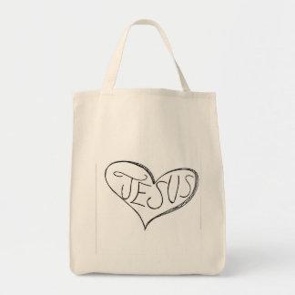 Heart in Jesus Tote Bag