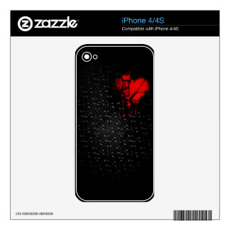 Heart İn Lost Puzzle iPhone 4 Decal