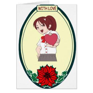 Heart in my hand, Love Card