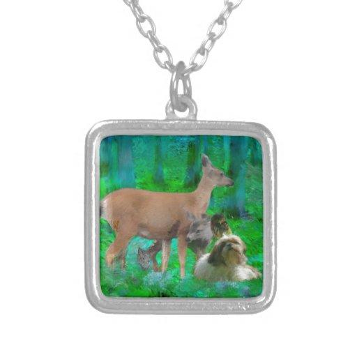 heart in nature pendants