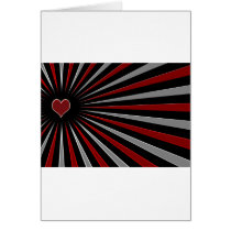 Heart in Spokes Card