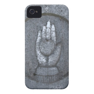 Heart in Stone Hand iPhone 4 Case-Mate Case