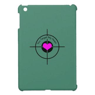 Heart in target iPad mini cover