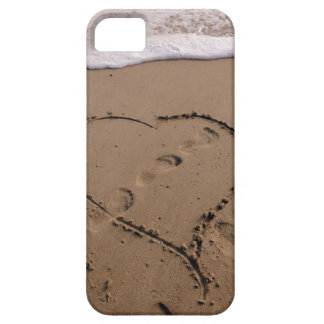 Heart in the Beach iPhone case iPhone 5 Covers