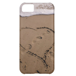 Heart in the Beach iPhone case iPhone 5C Covers